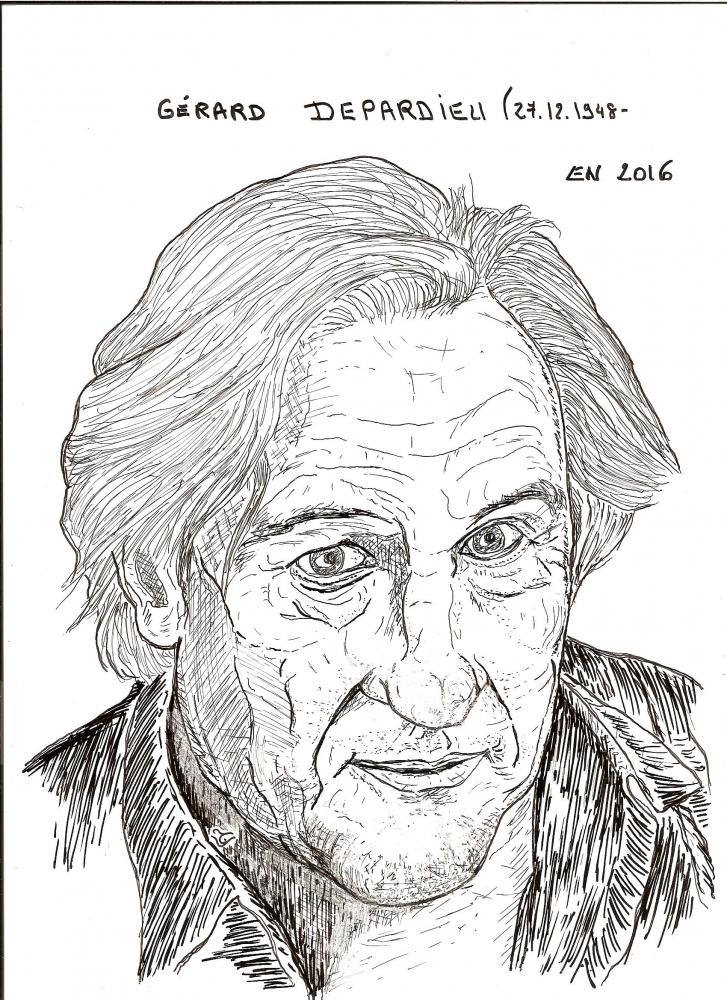 Gérard Depardieu par TLV19